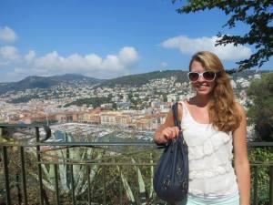 Katy Macek spent July in Nice, France through ieiMedia program lead by Mike Dorsher.